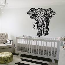 aliexpress com buy removable wall stickers elephant wall decal
