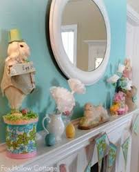 Easter Decorations On Mantel by Mantel Decorations Ideas U0026 Inspirations Stylish Easter Mantel