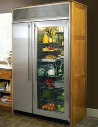 glass door refrigerator for sale kitchen incredible glass front fridge residential door