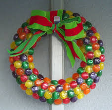 textile trolley how to make a candy wreath