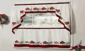 Cheap Valances Kitchen Christmas Kitchen Curtains Cheap Christmas Kitchen