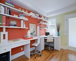 office color combination ideas office cool office design with wall in turquoise color idea