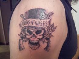 guns n roses tattoo by curi222 on deviantart