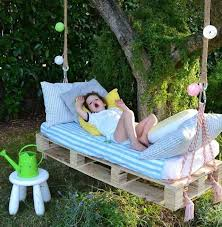 Diy Pallet Bench Instructions 33 Pallet Swings U2013 Chair Bed And Bench Seating Plans Pallet