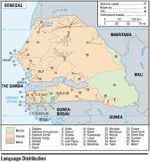 africa map senegal senegal maps perry castañeda map collection ut library