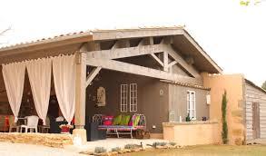cuisine d été couverte terrasse couverte la bastide de