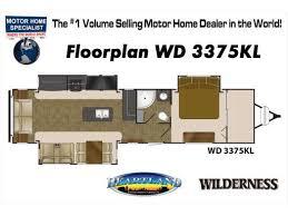 Wilderness Rv Floor Plans New Or Used Heartland Wilderness 2650bh Rvs For Sale Rvtrader Com