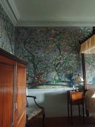 handpainted wallpaper picture of old westbury gardens old