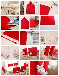 santa hat chair covers santa hat chair covers diy home tutorials
