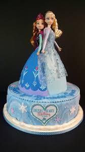 grace u0027s elsa u0026amp anna frozen cake eva u0027s birthday