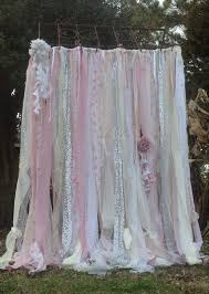 Curtains With Ribbons Best 25 Fabric Ribbon Ideas On Pinterest Fabric Garland Diy