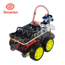 Seeking Robot Official Smarian Car Kit For Arduino Uno R3 Electronic Diy