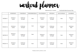 Workout Excel Template 9 Excel Workout Templates Excel Templates