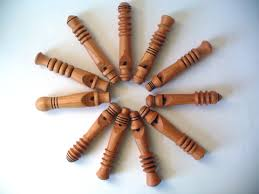 i had so much fun making these wooden whistles that i went on to