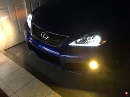 lexus gs yellow fog lights review osram fog breaker yellow bulbs clublexus lexus forum