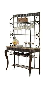 Wrought Iron Bakers Rack With Glass Shelves 136 Best Cast Iron Display Ideas Images On Pinterest Display