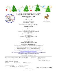 sample invitation letter for christmas party 15 on with invitation