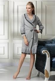 robe de chambre en courtelle femme enchanteur robe de chambre de luxe pour femme et peignoir de luxe