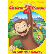 curious george 2 follow monkey dvd video target