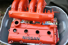 orange nissan sentra valve cover options allsentra com the nissan sentra forum
