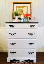 cabinet protective top coat refinished tall vintage dresser with dixie belle fluff general