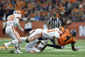 No 1 Kitchen Syracuse by Dungey Has 3 Td Passes Syracuse Stuns No 2 Clemson 27 24