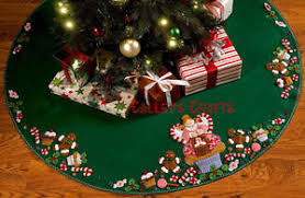 bucilla cupcake 43 felt tree skirt kit 86243