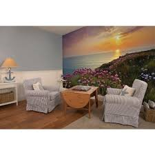 komar 100 in x 145 in land s end wall mural 8 901 the home depot land s end wall mural