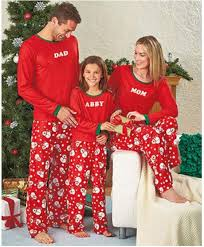 2017 pajamas family matching clothes