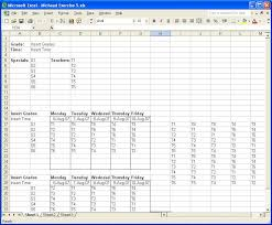 Workout Excel Template Workout Excel Spreadsheet Template Eoua