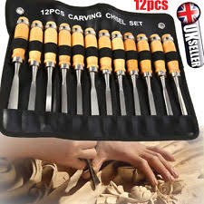 wood carving set chisels ebay