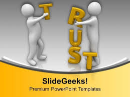 building trust in business for success powerpoint templates ppt