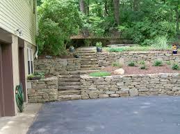 Backyard Retaining Wall Ideas Landscape Wall Design Exprimartdesign Com