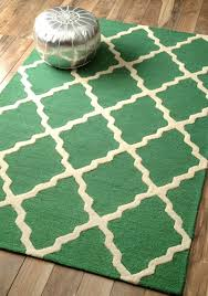 green rugs decor by color