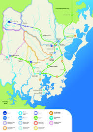 The Shire Map Wyong Shire Council Water