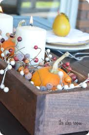 table centerpieces thanksgiving tables
