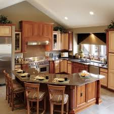 L Shaped Kitchen Designs With Island Pictures L Shaped Kitchen Designs With Island Cabinet Gallery L Shaped
