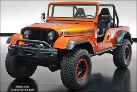 sema jeep yj jeep built a modern cj 6 and it looks incredible jeep cj dodge