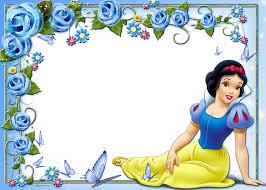 cute kids princess snow white transparent frame gallery