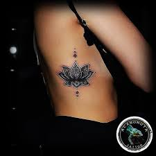 25 beautiful lotus side ideas on tattoos on