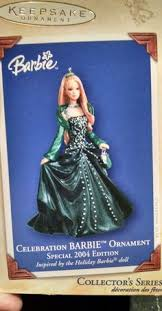 this 60s barbie hallmark keepsake ornament from mattel is called
