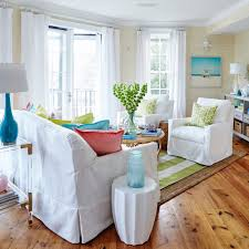 how to create a bright beachy living room coastal living
