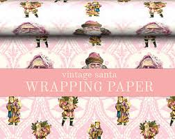 custom christmas wrapping paper christmas wrapping paper roll vintage