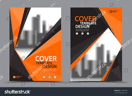 orange color scheme city background business stock vector