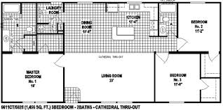 open space floor plans sectional mobile home floor plan the 6611 view