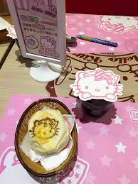 Hello Kitty Halloween Cake by What It U0027s Like To Eat At Taipei U0027s Hello Kitty Cafe La Jolla Mom