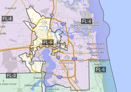 Map Of Jacksonville Florida by New Florida Congressional Map Sets Stage For Special Session