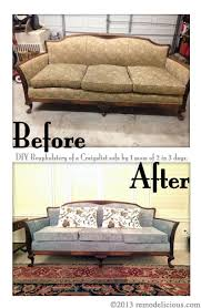 Cls Sofas Re Upholstering An Antique Sofa The Diy Way U2013 Remodelicious
