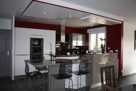 perene cuisines cuisine blanche fango et plan de travail quartz moderne