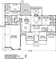 southern style house plan 3 beds 3 baths 2156 sq ft plan 56 589